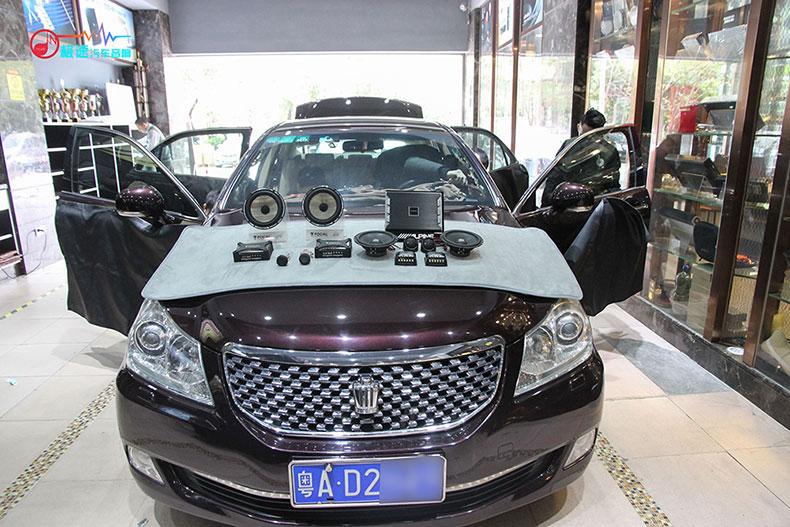 丰田皇冠汽车音响改装,体验优质的音乐生活丨广州极速